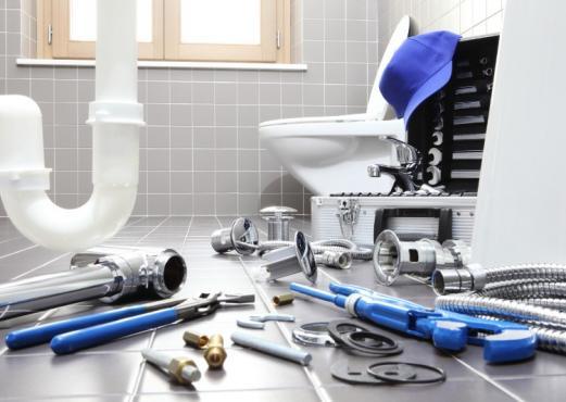 Artisan plombier, salle de bain